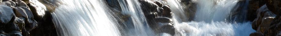 Foto von Wasserfall