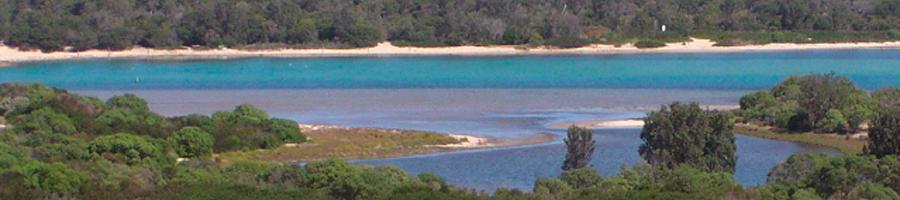 Foto von Seenlandschaft